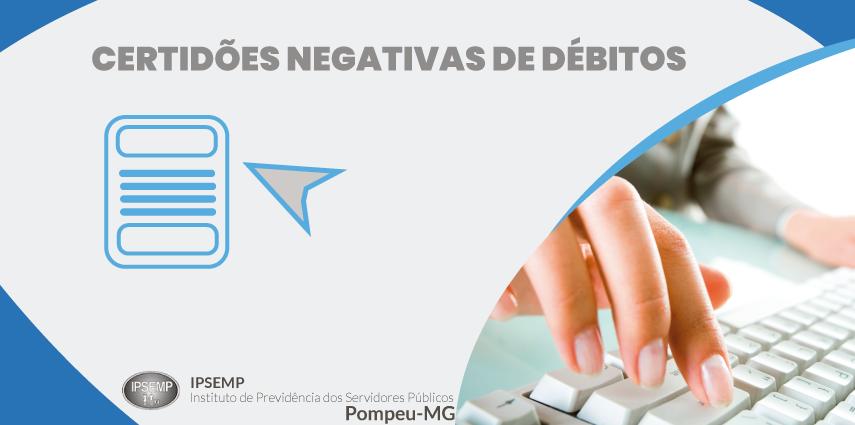Certidões atualizadas de débitos do IPSEMP